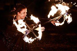 Magiska eldshower